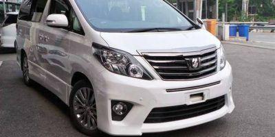 Toyota Alphard Hire Eldoret